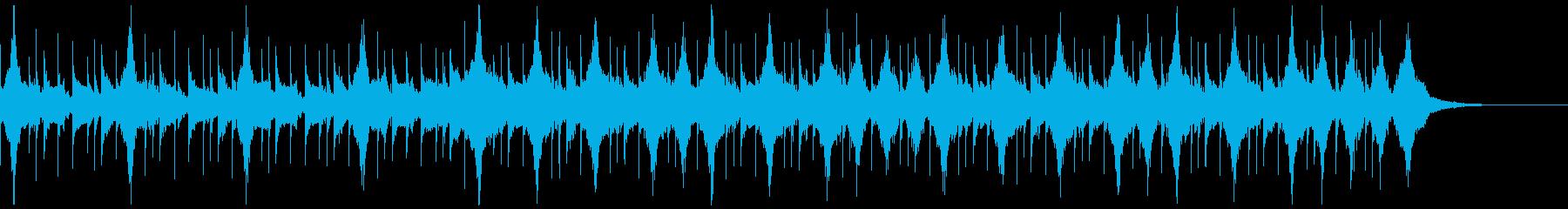 コーポレートテクスチャ―10の再生済みの波形