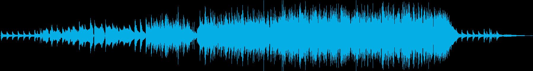 渓流を思わせるさわやかでポップなBGMの再生済みの波形