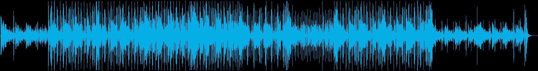 [モダン]Chill HipHopの再生済みの波形