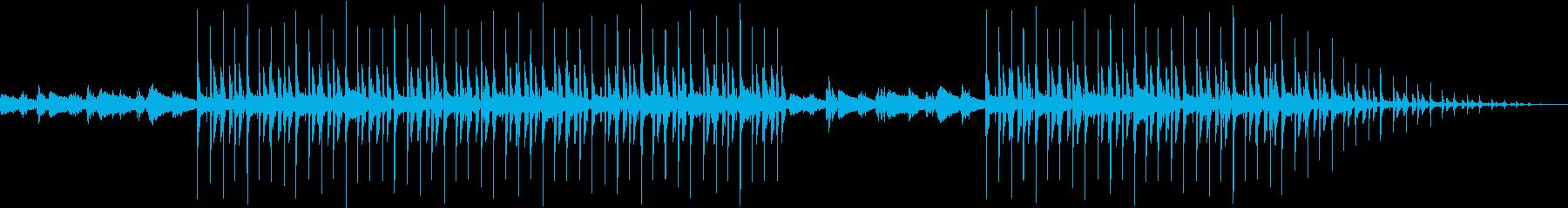 リラックスタイムにあうローファイの再生済みの波形