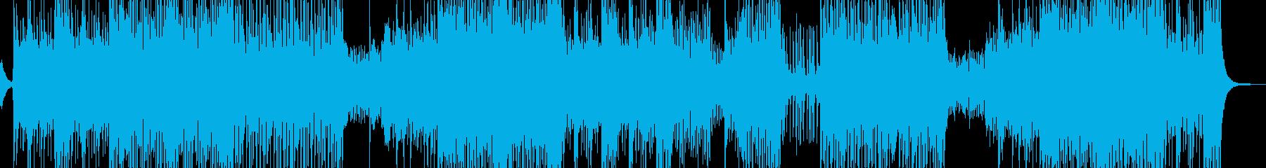RPG・砂漠面を想定したBGM 長尺の再生済みの波形