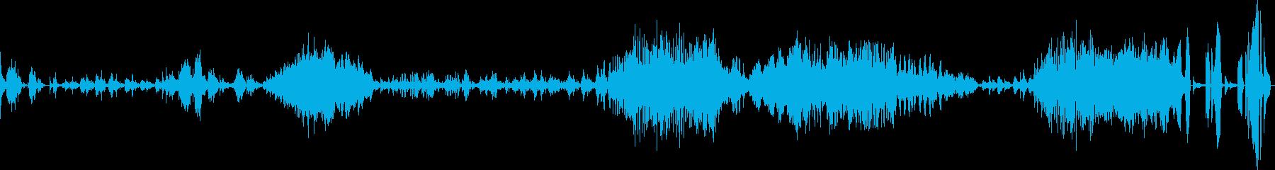 ショパン バラード Op23の再生済みの波形