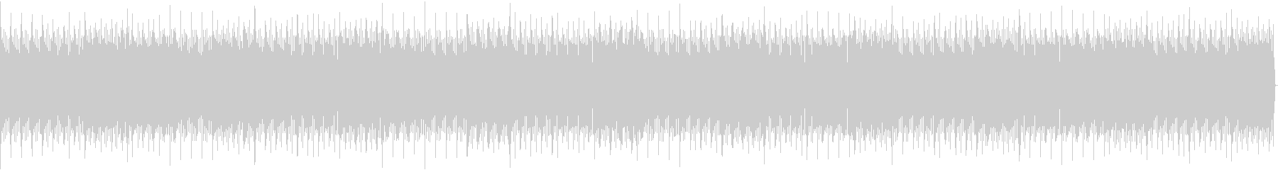 四つ打ちのBGMの未再生の波形