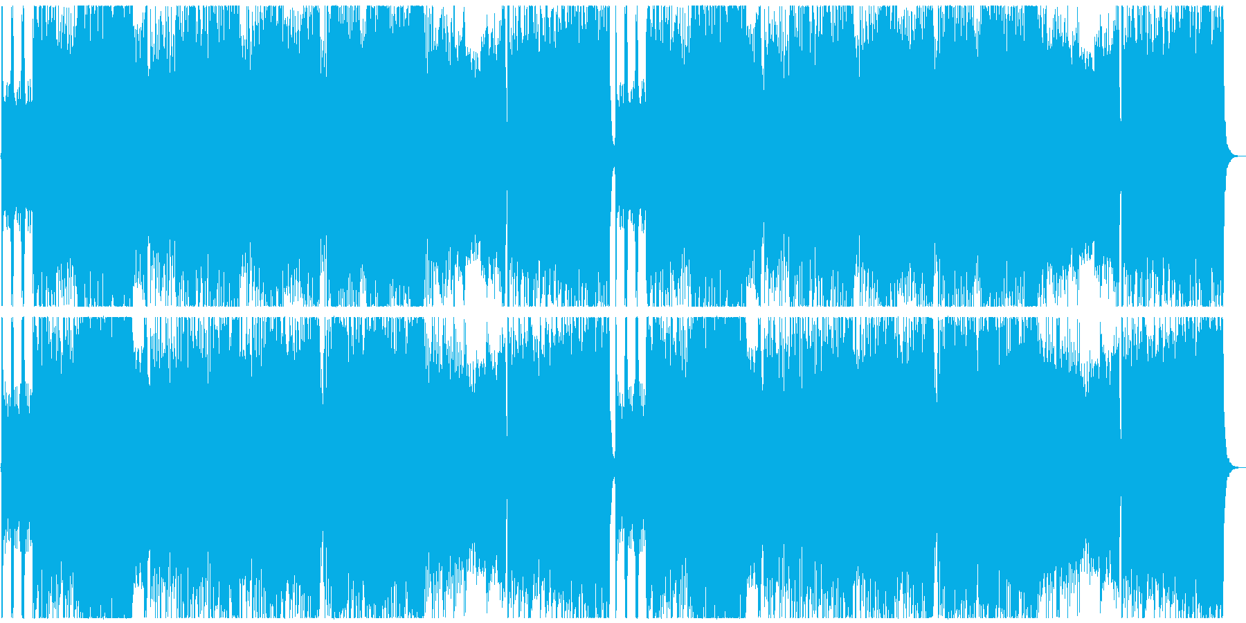熱いフォークメタルの再生済みの波形