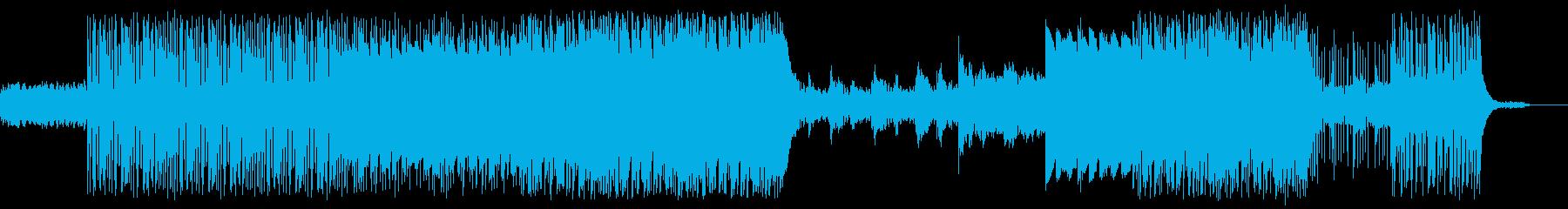 バックグラウンドサウンドトラックス...の再生済みの波形