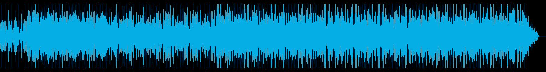 ディープで単調なシネマアンビエントの再生済みの波形