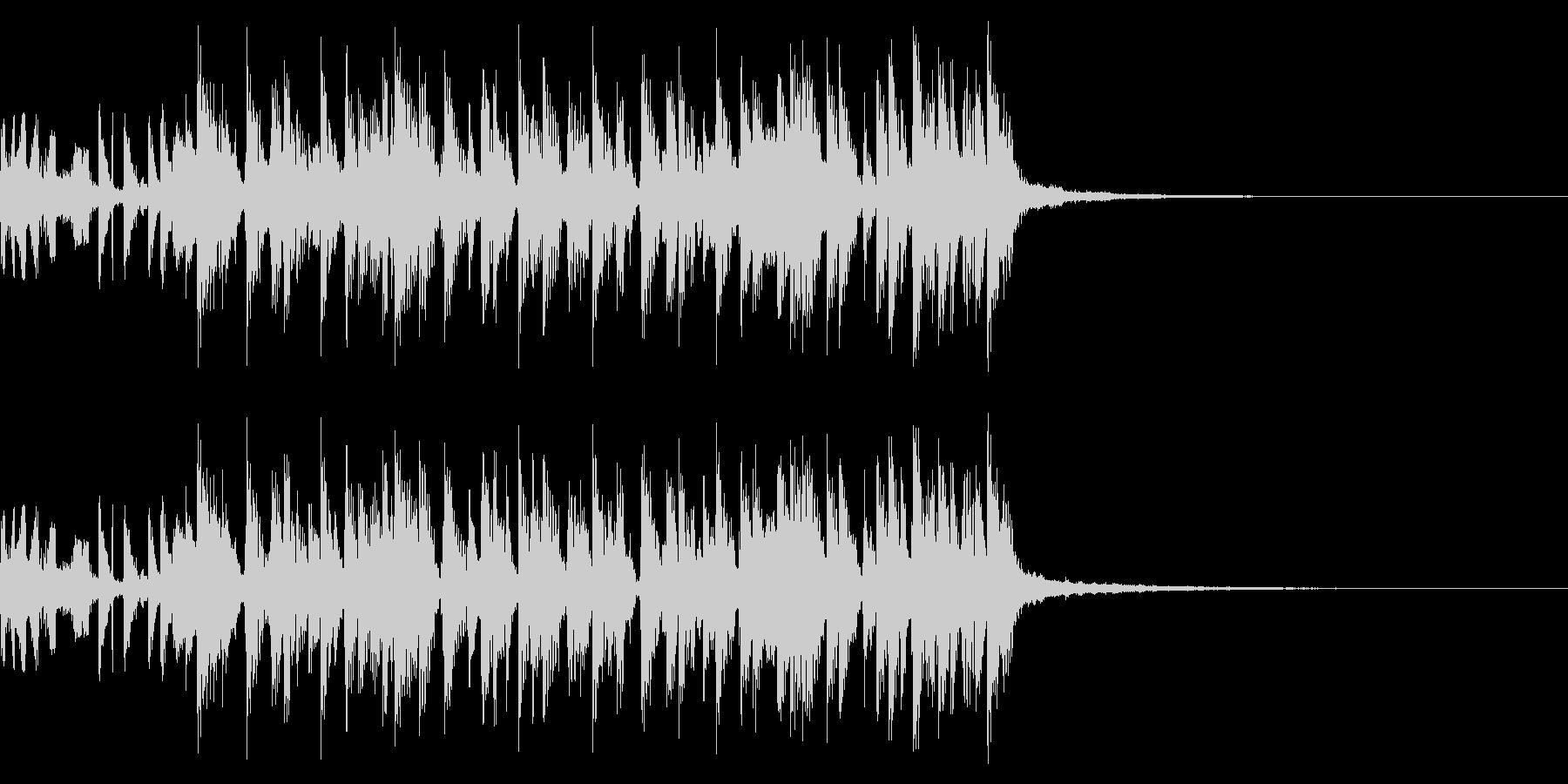 ジャイロスコープの未再生の波形