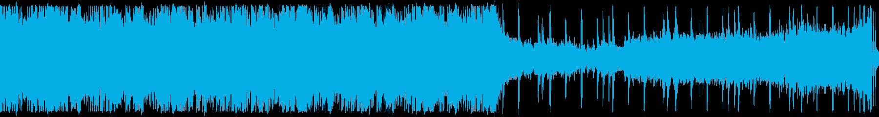 【ループ】迫力クラップ&ストンプアンセムの再生済みの波形