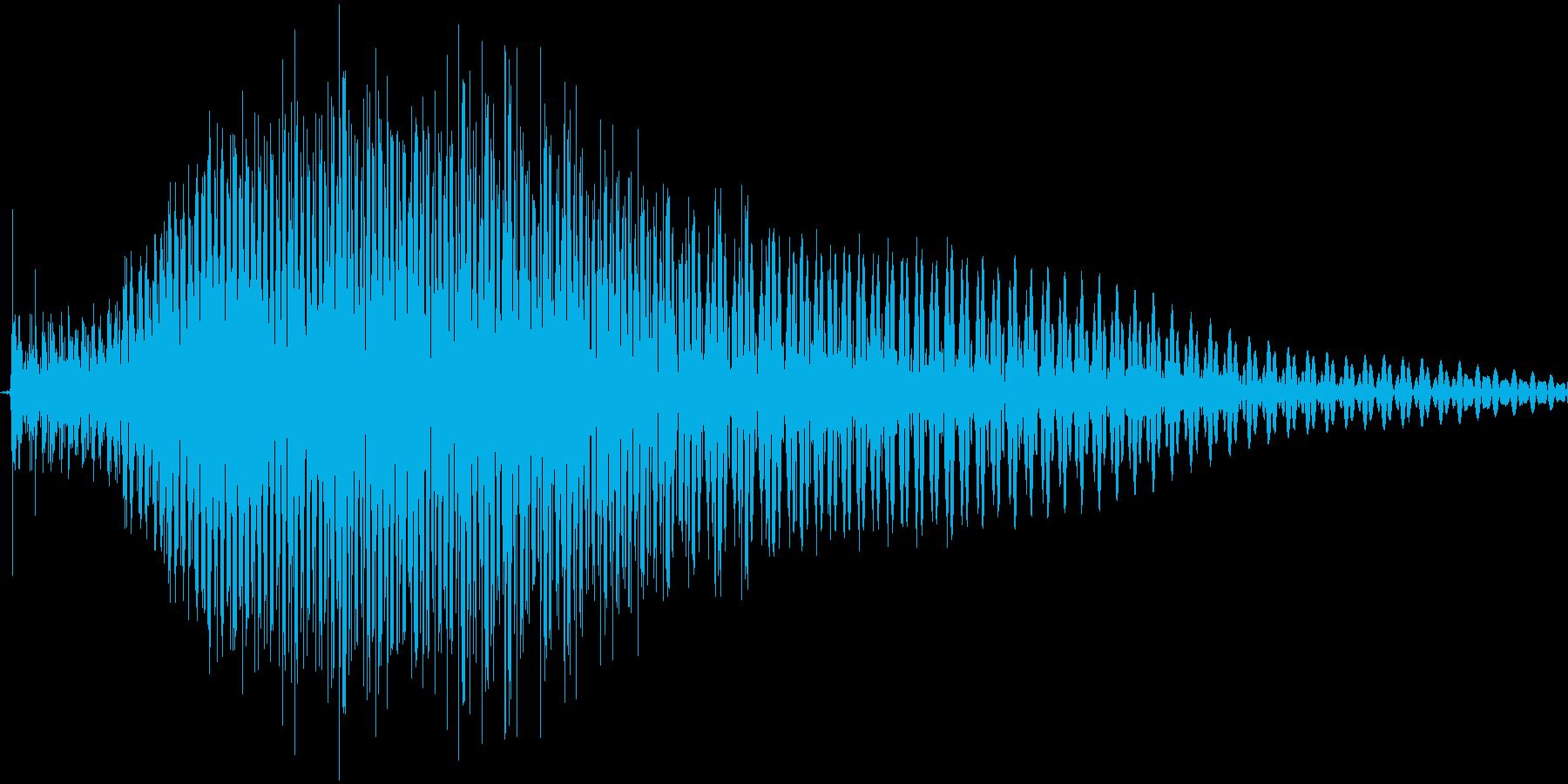Good!女の子の声の再生済みの波形