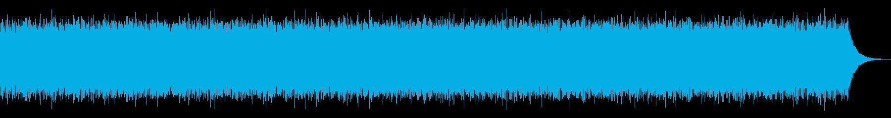 デジタルJ-POP風BGMの再生済みの波形