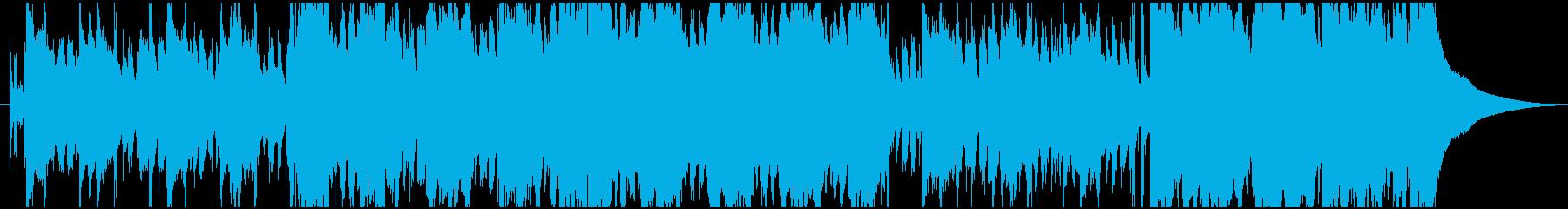 ポップ ロック ブルース バトル ...の再生済みの波形