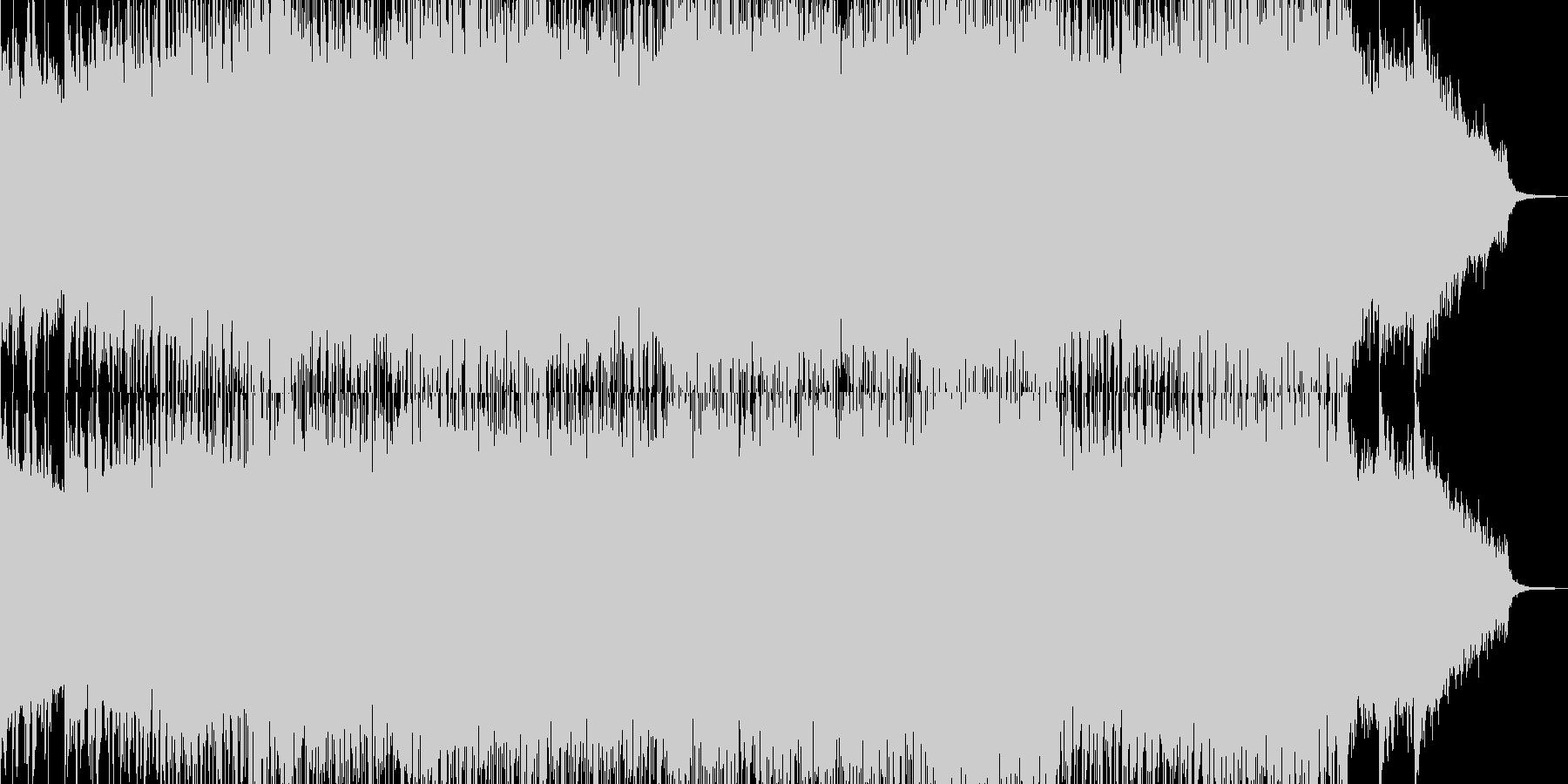 ストリングス・幕開け盛大な作品に 短尺★の未再生の波形