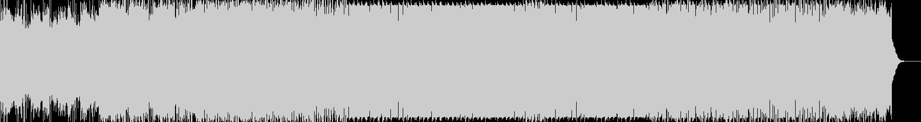 枯葉舞い落ちるイメージのデジタルサウンドの未再生の波形