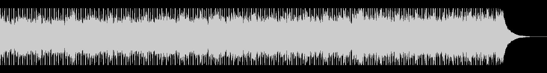 建設工事(60秒)の未再生の波形