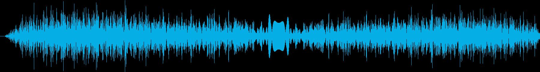 DJプレイ スクラッチ・ノイズ 1の再生済みの波形