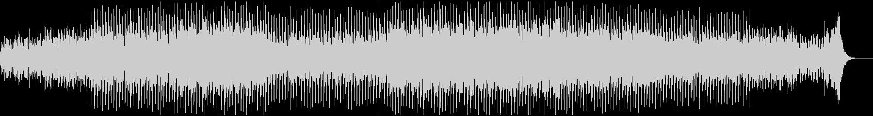 ミステリアスで謎に迫る様な神秘的BGMの未再生の波形