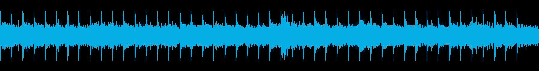 ゆったりくつろげる雰囲気のBGMですの再生済みの波形