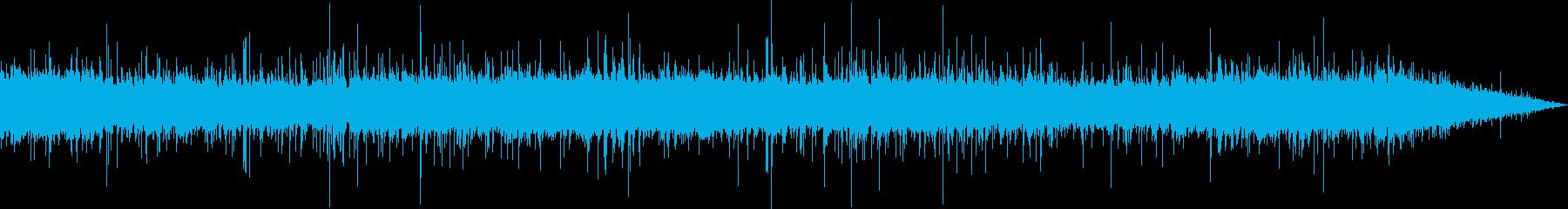 【自然】雨の音 SE_02の再生済みの波形