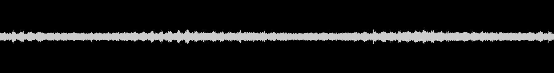 セミの声ループ・シングルの未再生の波形