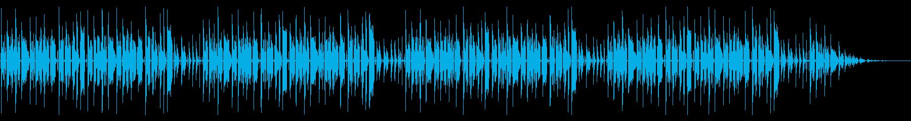 童謡「あめふり」脱力系アレンジの再生済みの波形