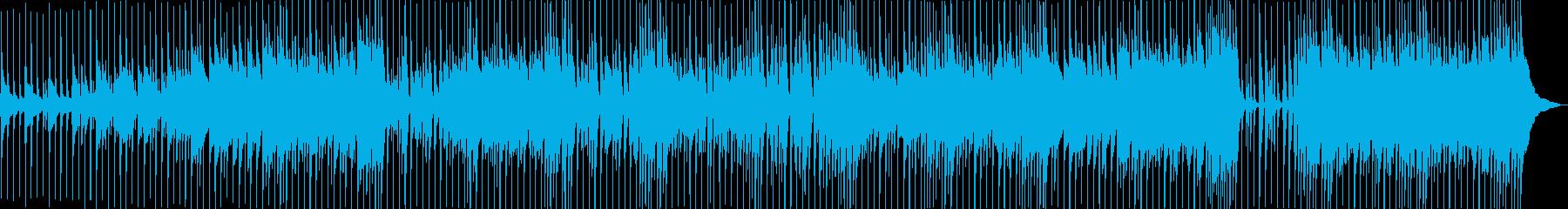 陽気でエキサイティングなポップスの再生済みの波形