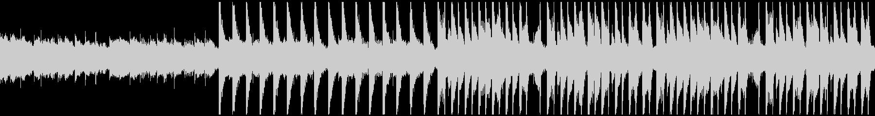 不気味な雰囲気のHouse(ループ版)の未再生の波形