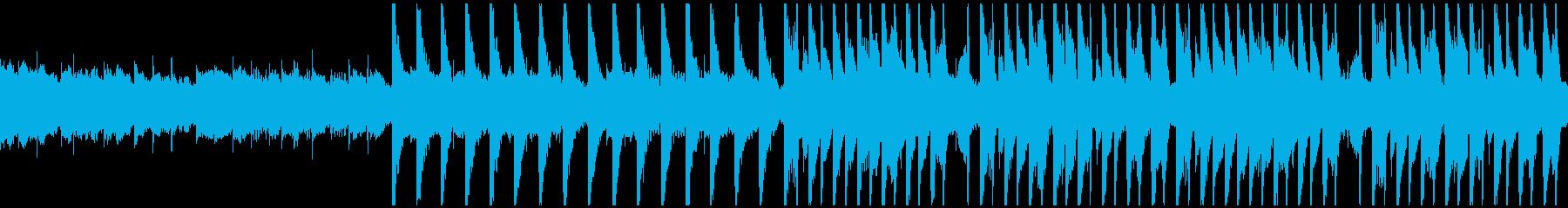 不気味な雰囲気のHouse(ループ版)の再生済みの波形