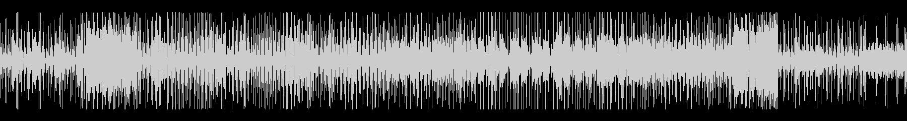 レトロ風メロディとピコピコ音の無限リレーの未再生の波形