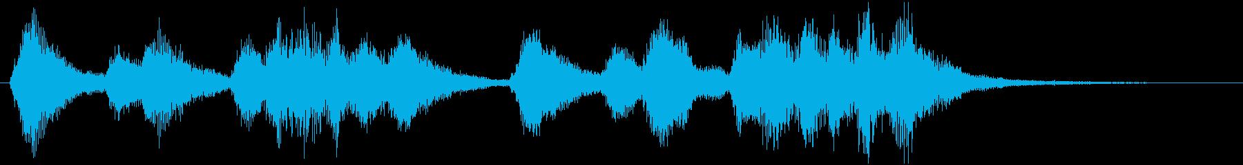 アイネ・クライネ・ナハトムジーク(冒頭)の再生済みの波形