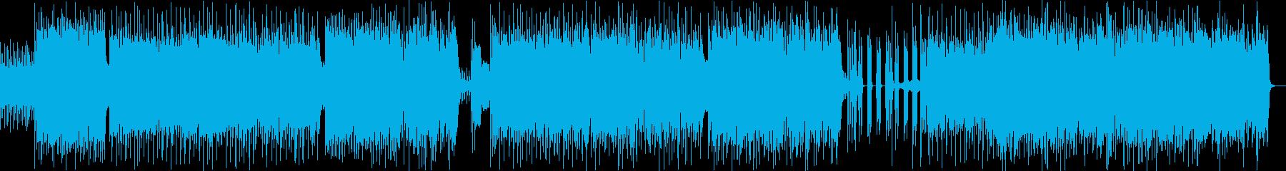 オリエンタルなダンサブルロック 生演奏の再生済みの波形
