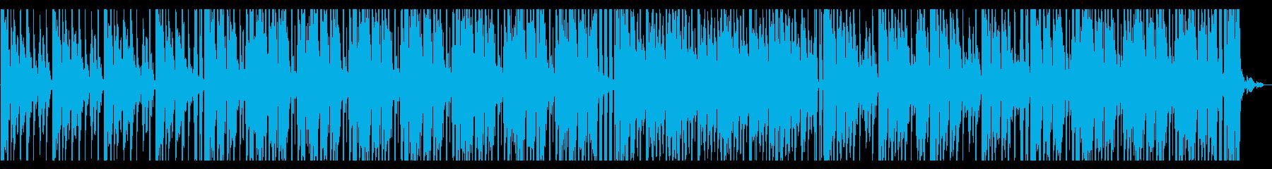 青/海/エレクトロ_No407_2の再生済みの波形