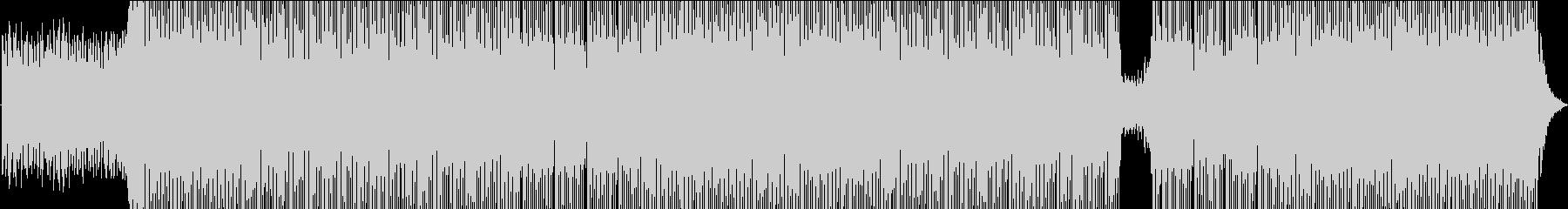 明るくきらめくエレクトロポップチャートの未再生の波形