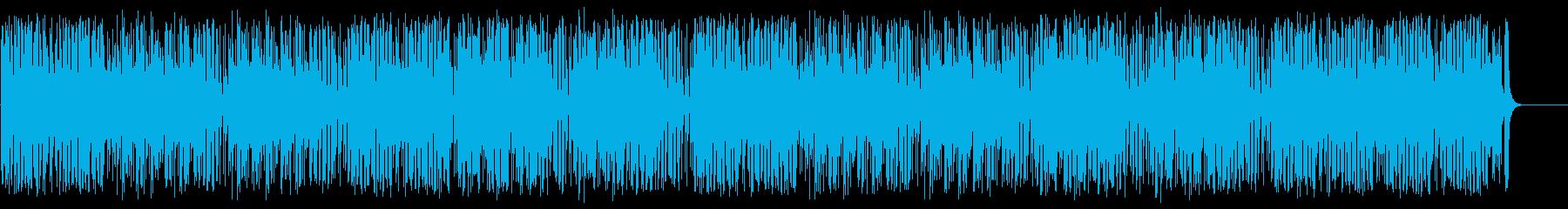 エネルギッシュで疾走感ある南国曲の再生済みの波形