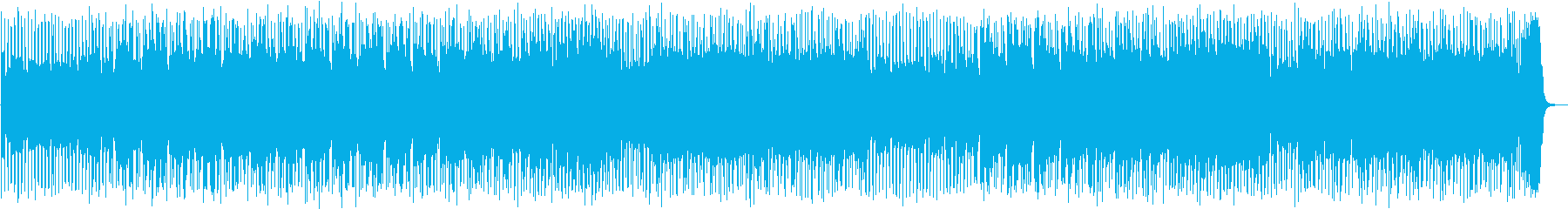 スポーツ番組向きロックギターフュージョンの再生済みの波形