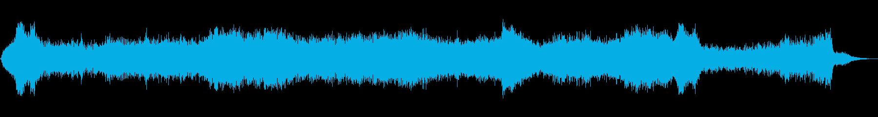 乱流の再生済みの波形