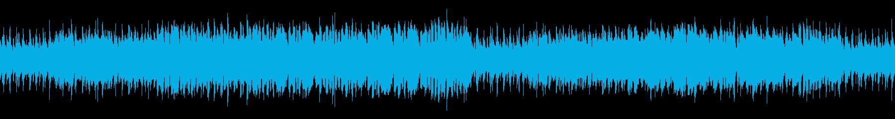 ループ まったり穏やかなアコースティックの再生済みの波形