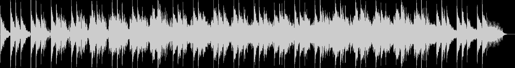 エレクトリックピアノの都会的フュージョンの未再生の波形