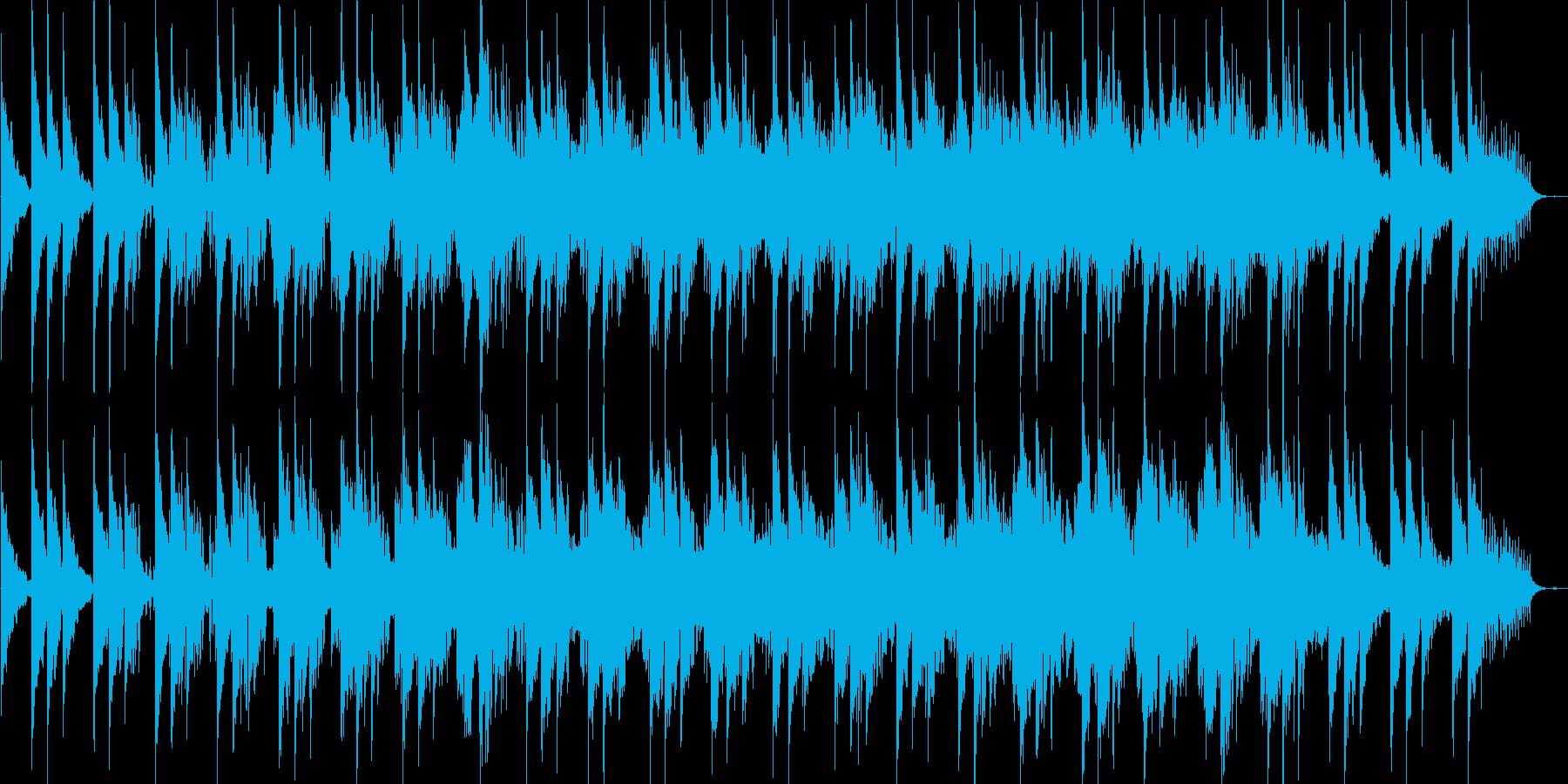 エレクトリックピアノの都会的フュージョンの再生済みの波形