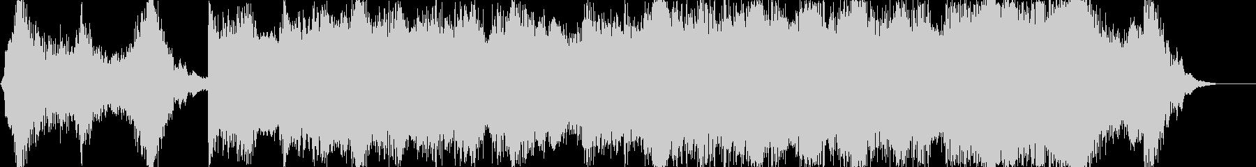 ハリウッド風トレイラー リズム主体01の未再生の波形