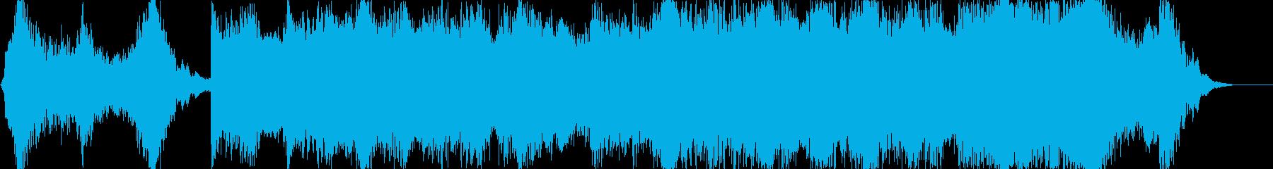 ハリウッド風トレイラー リズム主体01の再生済みの波形