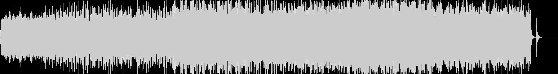 穏やかで軽快な3拍子のオケーストラ曲の未再生の波形