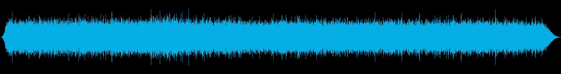 重い滝、遠くの滝の再生済みの波形