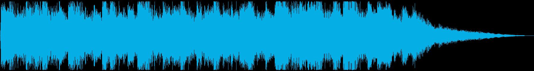 せつない感じの ピアノ&ストリングスの再生済みの波形