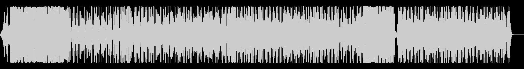 ミディアムテンポでクールなロックギターの未再生の波形