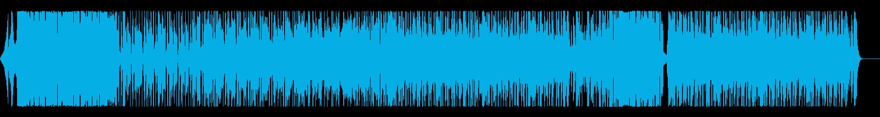 ミディアムテンポでクールなロックギターの再生済みの波形