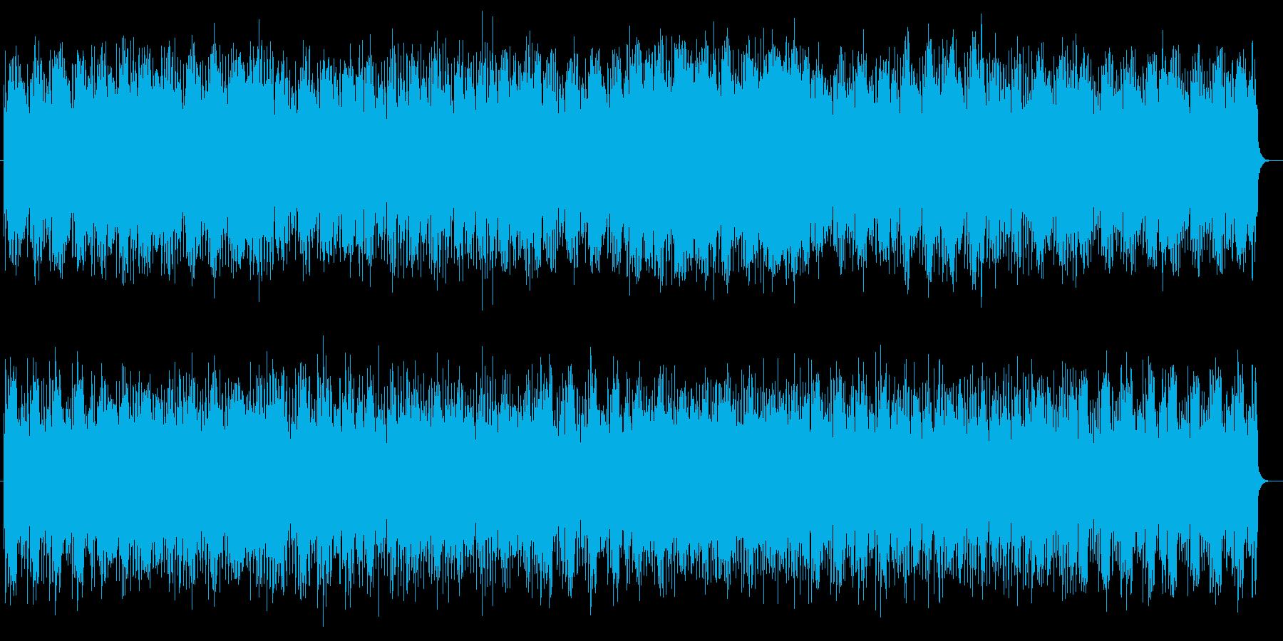 ちょっぴりレトロでクールなユーロビートの再生済みの波形