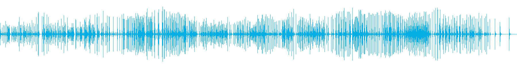 三味線139越後獅子3新潟県月潟角兵衛獅の再生済みの波形