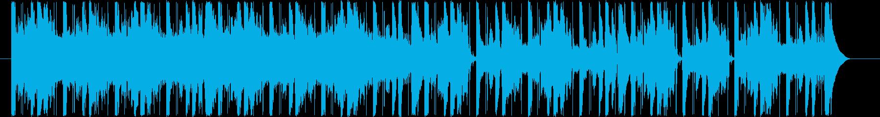 ガリガリした感じのループ音源です。の再生済みの波形