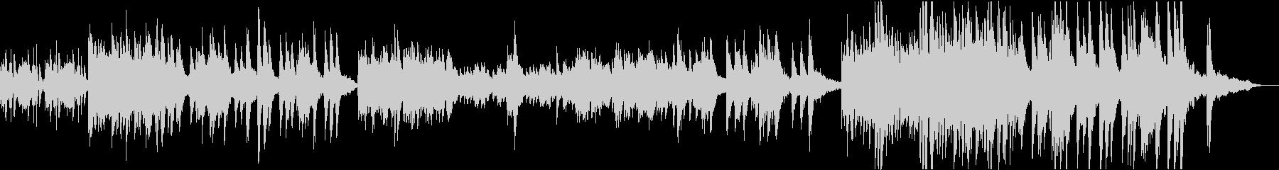 ヒマワリが咲き並ぶ情景(ピアノソロ)の未再生の波形