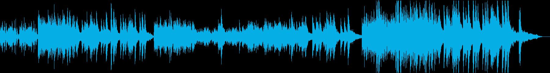 ヒマワリが咲き並ぶ情景(ピアノソロ)の再生済みの波形